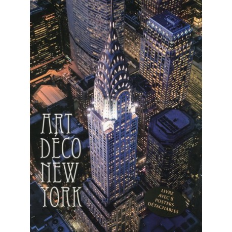Art déco New-York - Livre avec 8 posters détachables