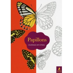 Papillons - Coloriages anti-stress