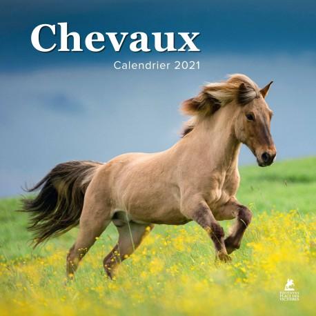 Chevaux - Calendrier 2021