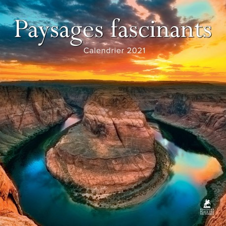 Paysages fascinants - Calendrier 2021
