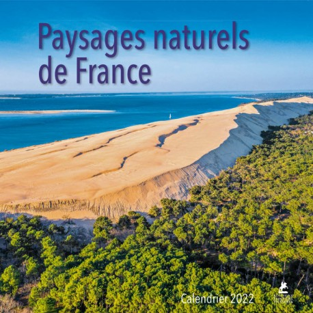 Paysages naturels de France - Calendrier 2022