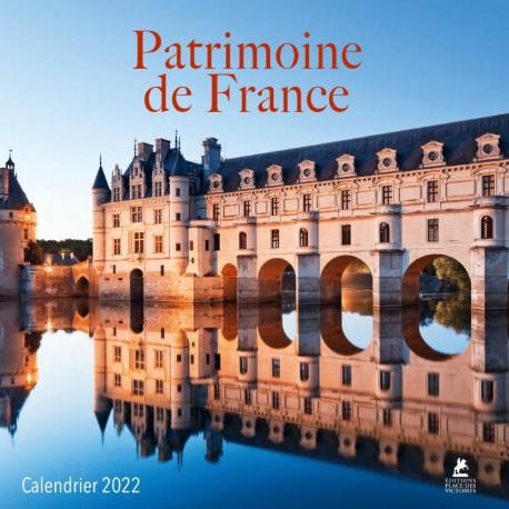 Patrimoine de France - Calendrier 2022