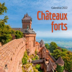 Châteaux forts - Calendrier 2022