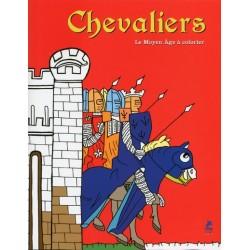 Chevaliers - Le Moyen Âge à colorier